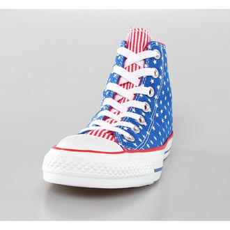 topánky CONVERSE - Chuck Taylor All Star - Blue/White/Red, CONVERSE