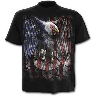 tričko pánske SPIRAL - LIBERTY USA - BLK
