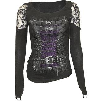 tričko dámske s dlhým rukávom SPIRAL - WAISTED CORSET, SPIRAL