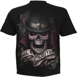 tričko pánske SPIRAL - EL MUERTO - BLK - TR372600