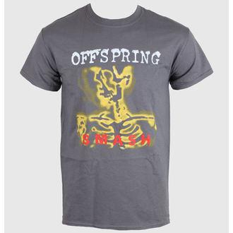 tričko pánske Offspring - Smash 20 - Charcoal - ROCK OFF, ROCK OFF, Offspring