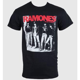 tričko pánske Ramones - Rocket To Russia - Black - ROCK OFF, ROCK OFF, Ramones
