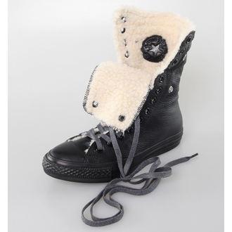 topánky dámske zimný CONVERSE - Chuck Taylor All Star Knee-Hi - Black, CONVERSE