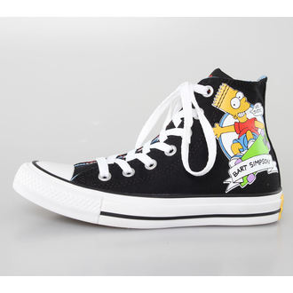 topánky CONVERSE- The Simpsons - Chuck Taylor All Star - Black / Multi, CONVERSE