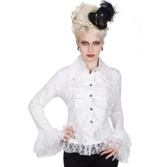 košele dámska Aderlass - Riffle Blouse Fine Denim (White), ADERLASS