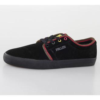 topánky pánske FALLEN - Forte 2 - Black/Rasta, FALLEN