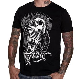 tričko pánske HYRAW - Evil Records - Black - HY004