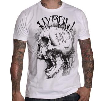 tričko pánske HYRAW - Punkshit - White