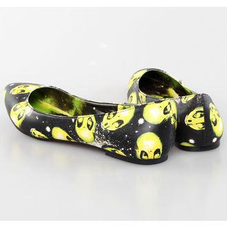 topánky dámske (balerínky) IRON FIST - AREA 51 Pointy Flat, IRON FIST