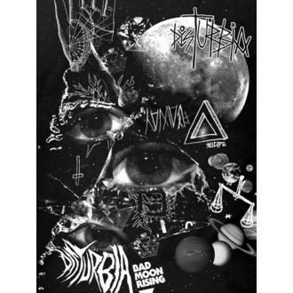 tričko dámske DISTURBIA - Bad Moon - Black, DISTURBIA