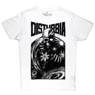 tričko pánske DISTURBIA - Doom - White, DISTURBIA