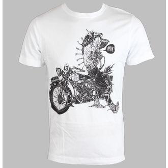 tričko pánske DISTURBIA - Famine - White, DISTURBIA