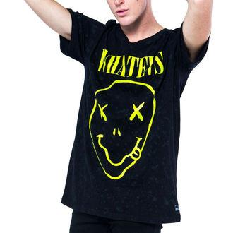 tričko pánske IRON FIST - WHATEVS - BLACK, IRON FIST
