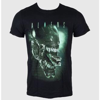 tričko pánske Aliens - Alien Head - LIVE NATION - Black, LIVE NATION, Alien - Vetřelec