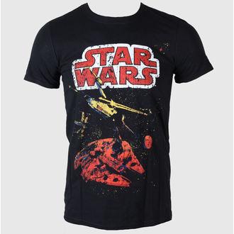 tričko pánske Star Wars - Xwing Gradient - LIVE NATION - Black
