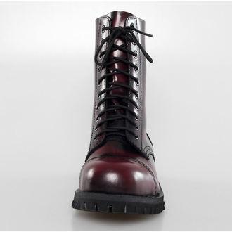 topánky ALTER CORE - 10dírkové - Burgundy Rub-Off, ALTERCORE