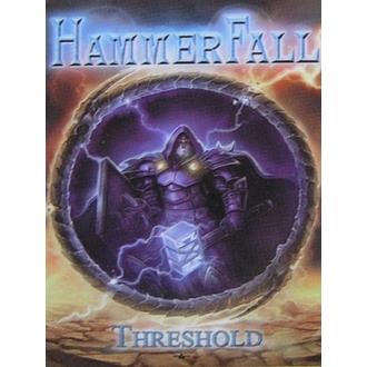 vlajka Hammerfall - Threshold, HEART ROCK, Hammerfall