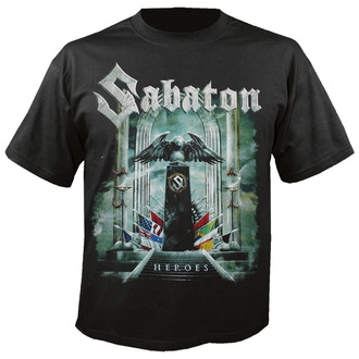 tričko pánske Sabaton - Heroes - NUCLEAR BLAST, NUCLEAR BLAST, Sabaton