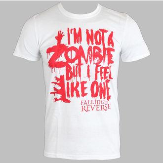 tričko pánske Falling In Reverse - Zombie (White) - PLASTIC HEAD, PLASTIC HEAD, Falling In Reverse