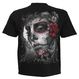 tričko pánske SPIRAL - SUGAR DOLL - BLK - DT237600