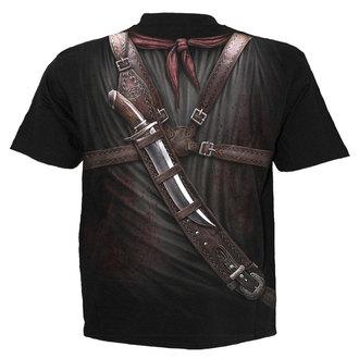 tričko pánske SPIRAL - HOLSTER WRAP - BLK, SPIRAL