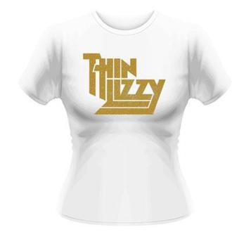 tričko dámske Thin Lizzy - Gold Sparkle Logo - PLASTIC HEAD, PLASTIC HEAD, Thin Lizzy