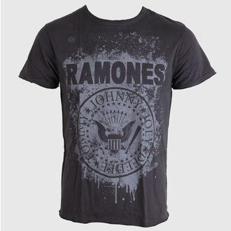 tričko pánske Ramones - Grafitti - AMPLIFIED - Charcoal, AMPLIFIED, Ramones