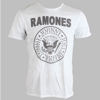 tričko pánske Ramones - Logo - AMPLIFIED - White, AMPLIFIED, Ramones