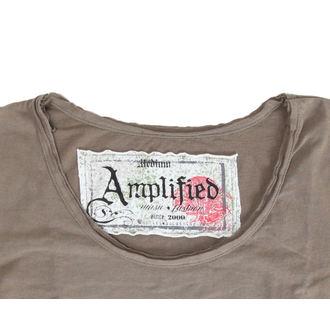 tričko dámske Mötley Crüe - Tour 87 - AMPLIFIED - Khakil, AMPLIFIED, Mötley Crüe