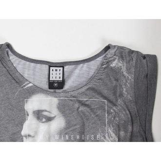 tričko dámske (top) Amy Winehouse - Club 27 Fishtail - AMPLIFIED - Black