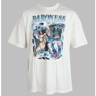 tričko pánske Baroness - Blue record - Cream - RELAPSE, RELAPSE, Baroness