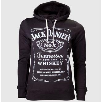 mikina dámska Jack Daniels - Black, JACK DANIELS