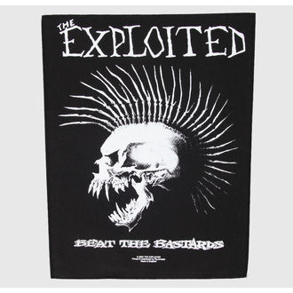nášivka veľká The Exploited - Poraziť The Bastards - RAZAMATAZ, RAZAMATAZ, Exploited