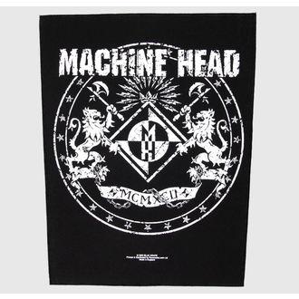 nášivka veľká Machine Head - Crest - RAZAMATAZ, RAZAMATAZ, Machine Head