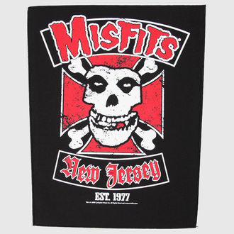 nášivka veľká Misfits - Biker - RAZAMATAZ, RAZAMATAZ, Misfits