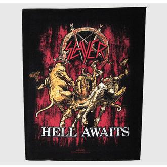 nášivka veľká Slayer - Hell Awaits - RAZAMATAZ, RAZAMATAZ, Slayer