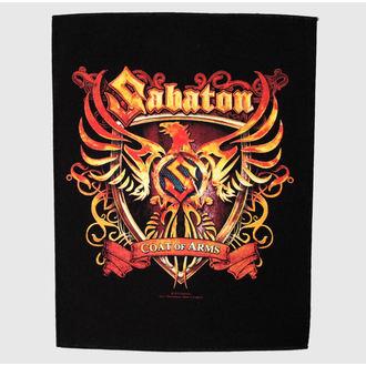 nášivka veľká Sabaton - Coat Of Arms - RAZAMATAZ, RAZAMATAZ, Sabaton