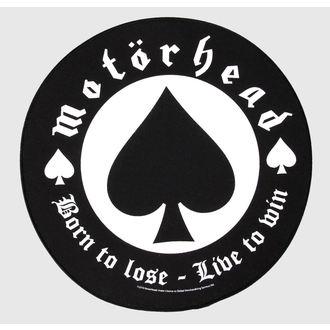 nášivka veľká Motörhead - Born to Lose - RAZAMATAZ, RAZAMATAZ, Motörhead