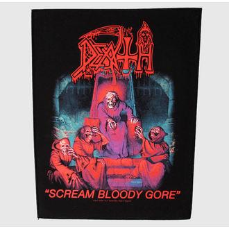 nášivka veľká Death - Scream Bloody Gore - RAZAMATAZ, RAZAMATAZ, Death