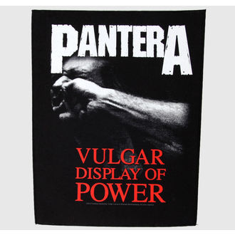 nášivka veľká Pantera - Vulgar Display Of Power - RAZAMATAZ, RAZAMATAZ, Pantera
