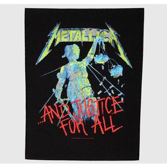 nášivka veľká Metallica - And Justice For All, RAZAMATAZ, Metallica