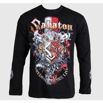 tričko pánske s dlhým rukávom Sabaton -Swedisch Empire Live - Black - CARTON, CARTON, Sabaton