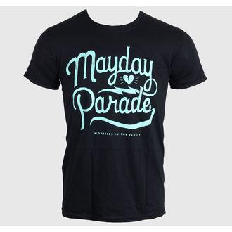 tričko pánske MAYDAY PARADE - SCRIPT -BLACK - LIVE NATION, LIVE NATION, Mayday Parade