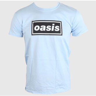 tričko pánske OASIS - DEFINITELY MAYBE - SKY BLUE - LIVE NATION, LIVE NATION, Oasis