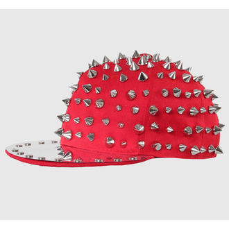 šiltovka CUPCAKE CULT - Full Spike - Red/Silver