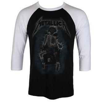 tričko pánske METALLICA - ELECTRIC CHAIR Baseball - BLACK - LIVE NATION, NNM, Metallica