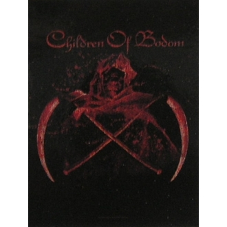 vlajka Children of Bodom - Crossed Scythes, HEART ROCK, Children of Bodom