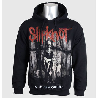 mikina pánska Slipknot - 5 The Gray Chapter - Blk - BRAVADO EU - SKHD14MB