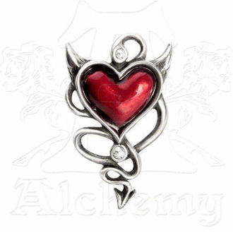 sponka do vlasov ALCHEMY GOTHIC - Devil Heart Hair Screw, ALCHEMY GOTHIC