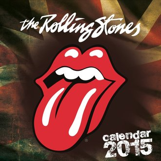 kalendár 2015 ROLLING STONES, NNM, Rolling Stones